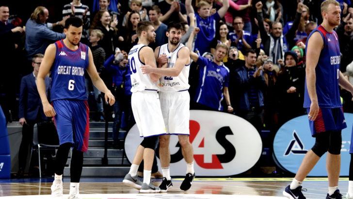 Suurbritannia alistanud Eesti korvpallikoondis avas MM-valiksarjas võiduarve