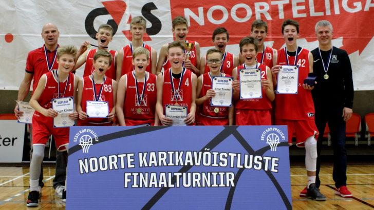 Värsked Eesti U14 karikavõitjad mängivad Tallinnas EYBL-i turniiri