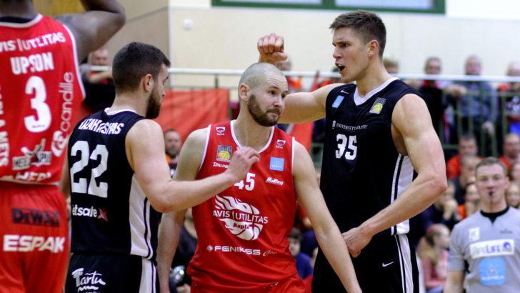 FOTOD | Tartu pani Raplas oma paremuse maksma, Kalev sai napilt jagu TTÜ-st