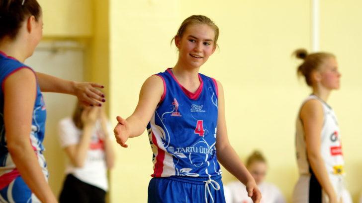 Anna-Gret Asi võimas kaksikduubel aitas Tartu Ülikool/Kalevi finaali