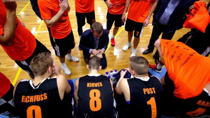 Pärnu pääses kindla võiduga Valga-Valka üle poolfinaali