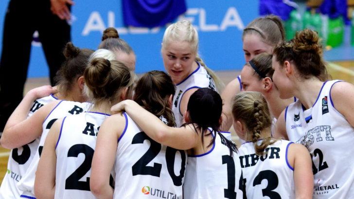 Eesti naiste korvpallikoondis kaotas sõprusmängus Soomele