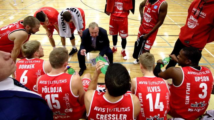 Rapla lõpetas põhihooaja 30-punktilise võiduga Tallinna Kalev/TLÜ vastu