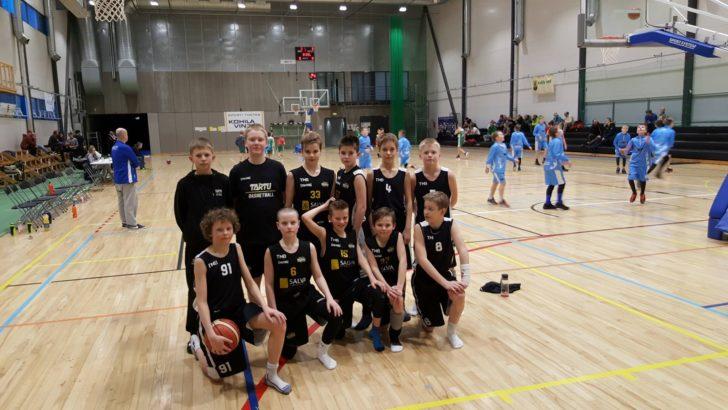 BC Tartu U12 poisid osalesid nädalavahetusel Kohilas