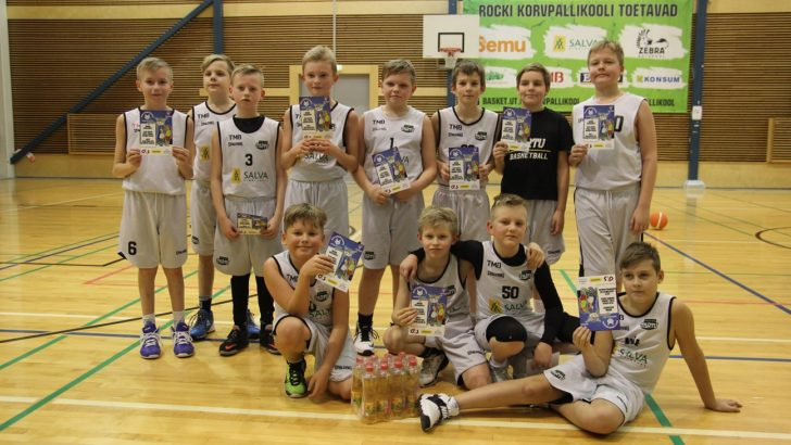 Nädalavahetusel toimus TÜ Spordihoones poiste G4S Noorteliiga Makro etapp