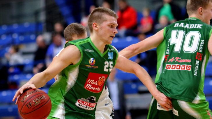 Kolmas järjestikune võit tõstis Valga-Valka Lätis viiendale kohale
