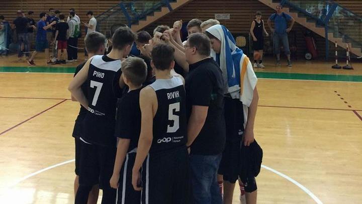 BC Tartu U15 poisid kaotasid küpselt mänginud Tel-Avivi Maccabile 7 punktiga