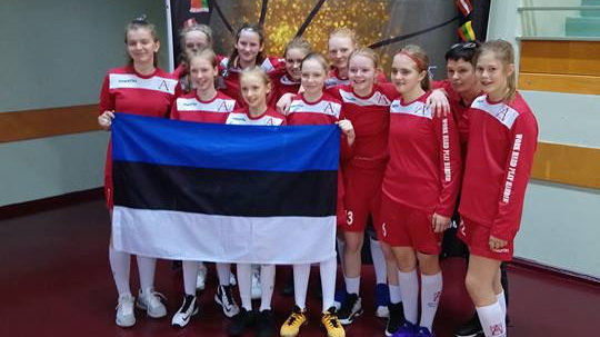 Audentese SK U13 tüdrukud said EGBL superfinaalis 4. koha