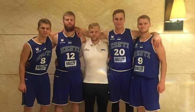 Eesti U23 koondis alustab 3×3 MM-i Hiinas Indoneesia vastu