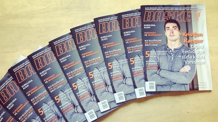 Alates 2003. aastast ilmunud ajakiri Basketball lõpetab paberkujul ilmumise