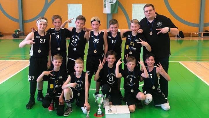 Tartu Ülikooli korvpallinoored võitlesid finaalis Leedu legendi poja juhitud Žalgirisega