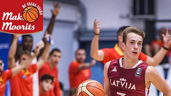 Läti noortekoondise mängujuht liitus Valga-Valka võistkonnaga